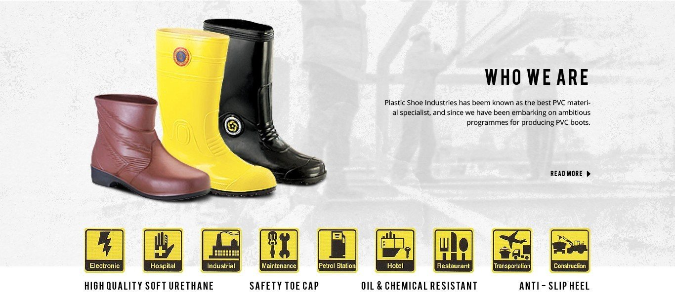 #1 Industrial PVC Safety Shoes & Rubber Boots Manufacturer in Malaysia - KORAKOH